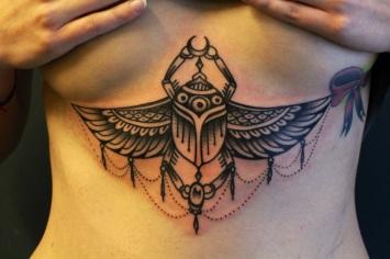 Ornamental tattoo