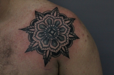 Cover up with flower